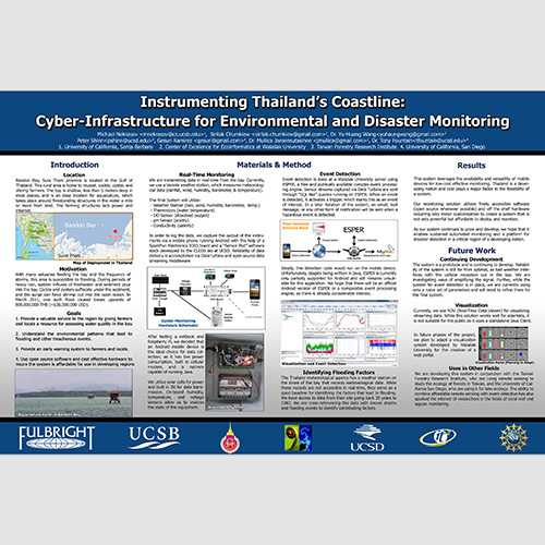 Instrumenting Thailand's Coastline: Mobile Devices for Environmental and Disaster Monitoring